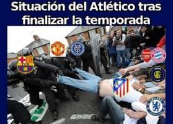 Enlace a Situación del Atlético tras finalizar la temporada