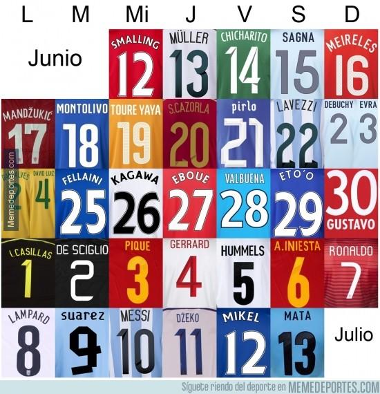 327181 - ¡Quedan 2 días! Éste será mi calendario Junio - Julio 2014