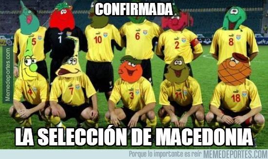 327340 - Confirmada la selección de Macedonia
