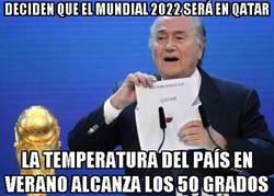 Enlace a Deciden que el mundial 2022 será en Qatar