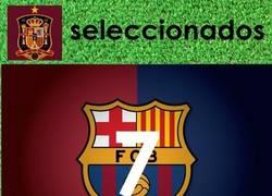 Enlace a Número de seleccionados españoles a nivel de clubes