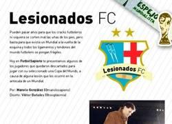Enlace a Lesionados FC, lesiones antes del Mundial
