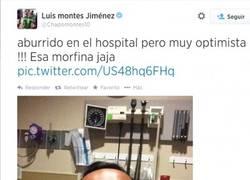 Enlace a Hay personas que se toman bien sus lesiones, después está Luis Montes