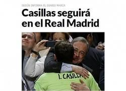 Enlace a ¿Por qué la prensa no hace caso a Casillas?