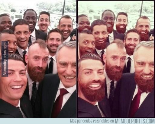 328960 - Hay chops currados y luego está éste del selfie de Portugal #todossomosmeireles