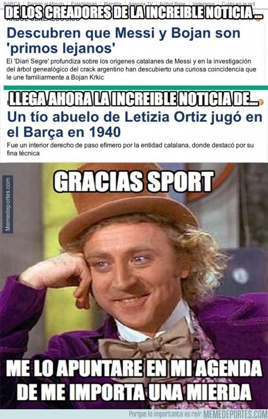 329149 - Gracias Sport, como podríamos vivir sin tus grandes noticias