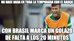 Enlace a Neymar, ya te vale