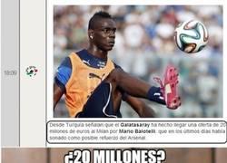 Enlace a ¿Sólo 20 millones por Balotelli?