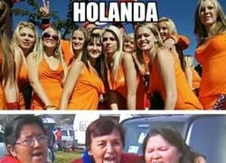 Enlace a Afición de Holanda vs Chile