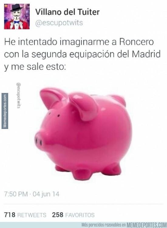 329967 - Roncero ya ha estrenado la camiseta rosa del Real Madrid