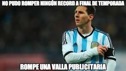 Enlace a Messi, algo es algo