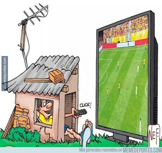 330110 - Mientras dure el Mundial, mucho quejarse pero todos a verlo