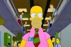 Enlace a Homer ya usa la camiseta rosa del Real Madrid