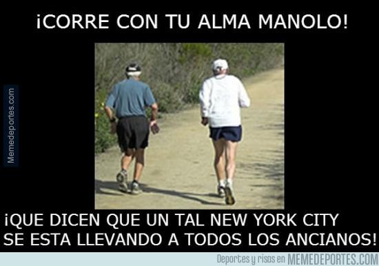 330272 - ¡Corre con tu alma, Manolo!
