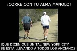Enlace a ¡Corre con tu alma, Manolo!