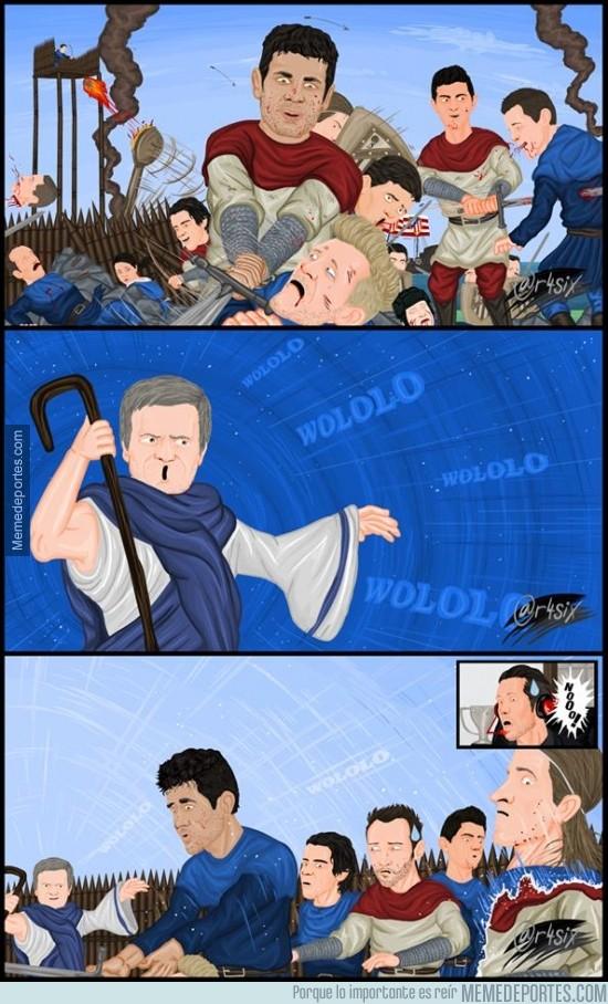 330355 - Después de la batalla del Atleti y el Chelsea, Mourinho se ha llevado su mejor arma