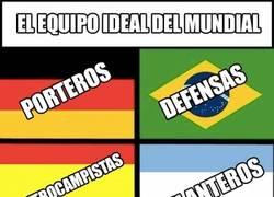 Enlace a Éste sería sin ninguna duda el mejor equipo del Mundial