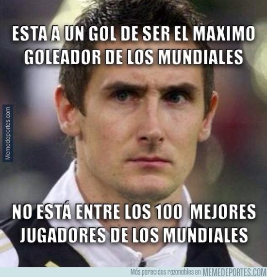 331660 - Klose podría ser el máximo goleador de los mundiales