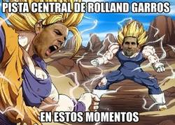Enlace a Pista central de Roland Garros en estos momentos