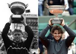 Enlace a Nadal supera a Björn Borg. 5 Roland Garros seguidos