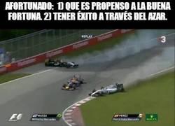 Enlace a La suerte de Vettel