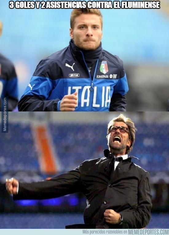 332131 - Pero al ser un amistoso no válido, estadísticamente tiene 0 goles con Italia