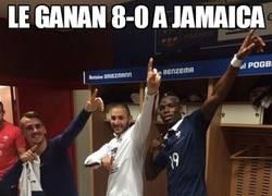 Enlace a Le ganan 8-0 a Jamaica