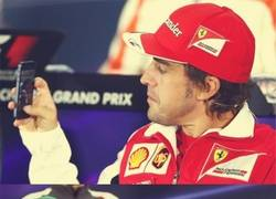 Enlace a Alonso le quita Hamilton a Adrian Sutil