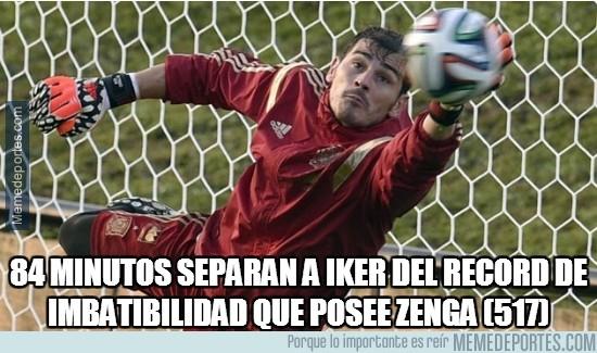 332881 - Casillas a tiro del récord de imbatibilidad