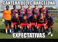 Enlace a El Sevilla es bueno formando jugadores para el Barça