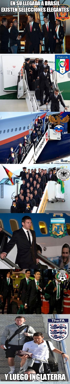 333102 - En su llegada a Brasil existen selecciones elegantes