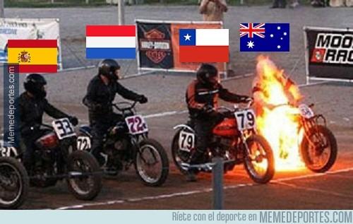 333399 - El grupo B está que arde con las declaraciones de los chilenos