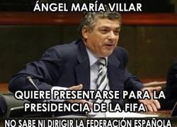 Enlace a Villar vete a casa, estás borracho
