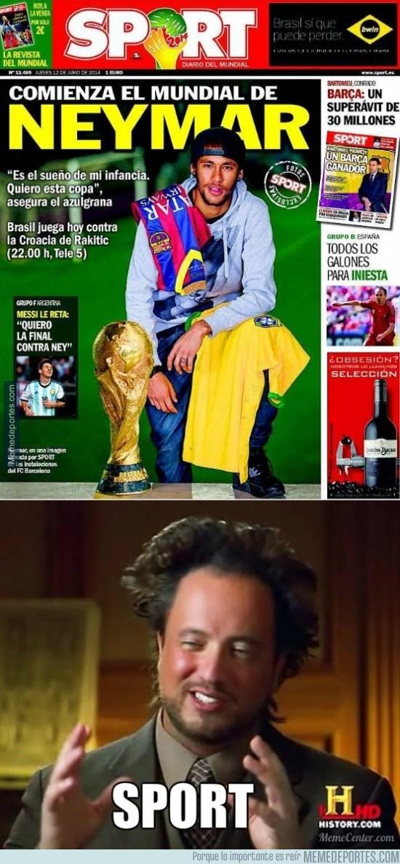 333502 - Sport apoyando a Brasil en el Mundial
