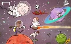 Enlace a El sueño de Blatter, los juegos interplanetarios