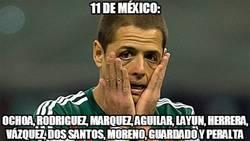 Enlace a Chicharito, ni con México