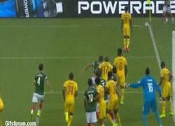 Enlace a GIF: Segundo gol mal anulado de la tarde para México