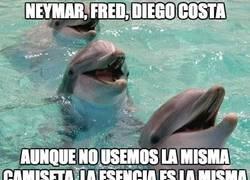 Enlace a Neymar, Fred, Diego Costa. Esencia brasileña