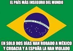 Enlace a Brasil, el país más inseguro del mundo