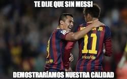Enlace a ¿Alexis y Neymar viven eclipsados por Messi?