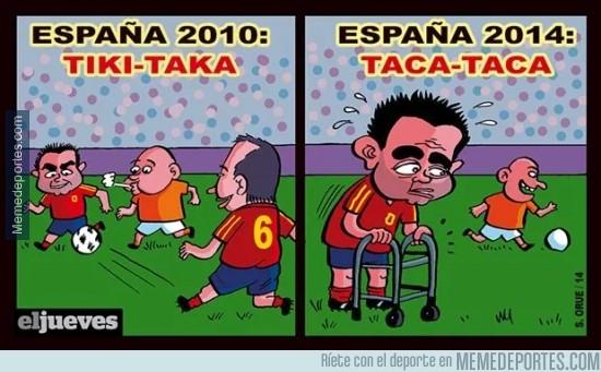 336234 - Del tiki-taka al taca-taca