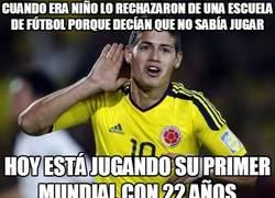 Enlace a ¿Quién dijo que James Rodríguez no sabe jugar al fútbol?