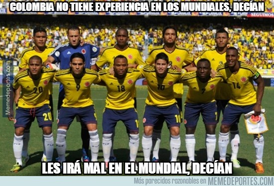 336572 - Para no haber participado en un Mundial en 16 años Colombia está haciendo un buen debut