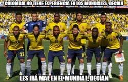 Enlace a Para no haber participado en un Mundial en 16 años Colombia está haciendo un buen debut