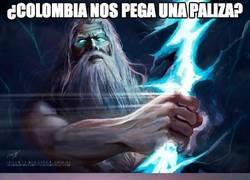 Enlace a Colombia, tened cuidado con los Dioses griegos