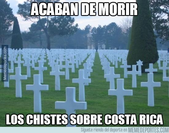 336900 - Hoy han muerto los chistes sobre Costa Rica