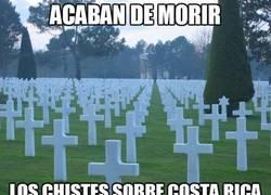 Enlace a Hoy han muerto los chistes sobre Costa Rica