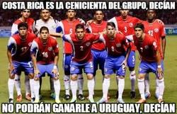 Enlace a Costa Rica ha demostrado ante Uruguay que tiene mucho que dar