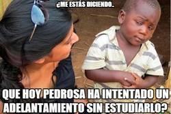 Enlace a Vaya carrerita se ha marcado Pedrosa...