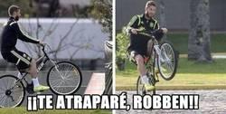 Enlace a Ahora sí podrá cazar a Robben
